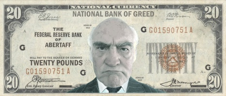 National Bank of Greed banknote