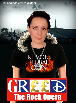 Jenni Davies from Greed The Rock Opera