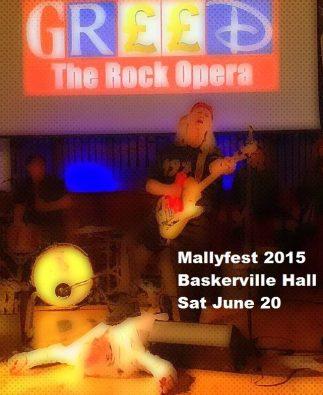 Mallyfest 2015 poster flyer