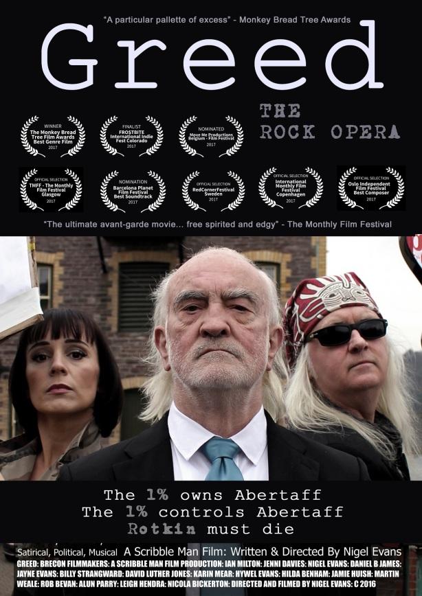 Greed Film Poster 16 black V2 gro Eight Awards 261117 bwish web (1)